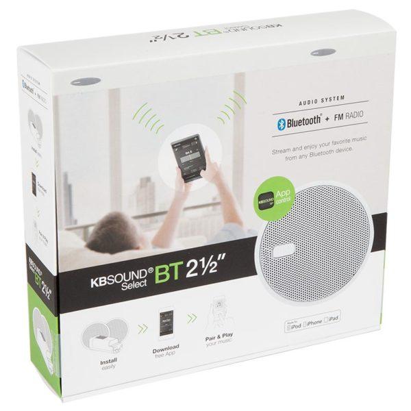 Bluetooth Ceiling Speakers, KBSOUND SELECT BT 2.5 inch bluetooth ceiling speakers