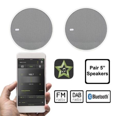 KBSOUND STAR FM DAB BLUETOOTH 5 inch speakers